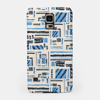 Thumbnail image of Ethnic Geometric Abstract Textured Samsung Case, Live Heroes