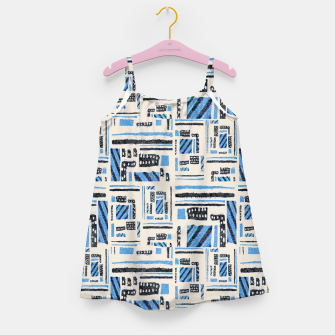 Thumbnail image of Ethnic Geometric Abstract Textured Girl's dress, Live Heroes