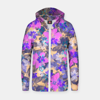 Thumbnail image of Floral Spring  Sudadera con capucha y cremallera , Live Heroes