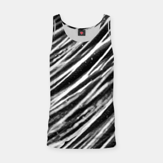 Thumbnail image of Black and White Modern Zebra Print Tank Top, Live Heroes