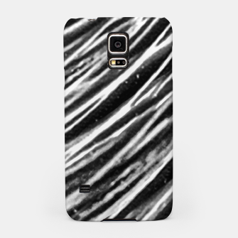 Thumbnail image of Black and White Modern Zebra Print Samsung Case, Live Heroes