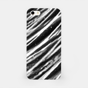 Thumbnail image of Black and White Modern Zebra Print iPhone Case, Live Heroes