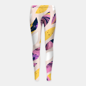 Thumbnail image of Pieces of My Life Girl's leggings, Live Heroes