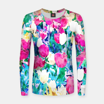 Thumbnail image of Meadow in Bloom Women sweater, Live Heroes