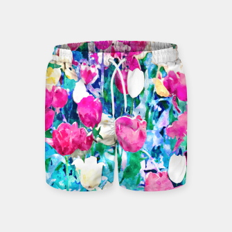 Thumbnail image of Meadow in Bloom Swim Shorts, Live Heroes