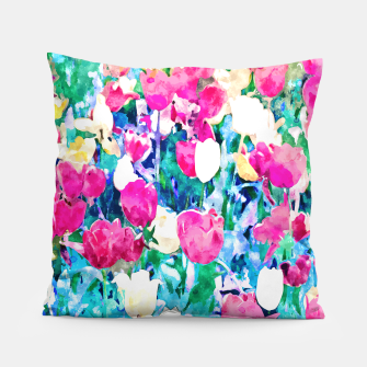 Thumbnail image of Meadow in Bloom Pillow, Live Heroes