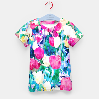 Thumbnail image of Meadow in Bloom Kid's t-shirt, Live Heroes