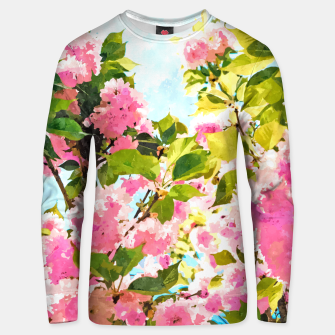 Miniature de image de Day Dreaming Under The Blooming Bougainvilla Unisex sweater, Live Heroes