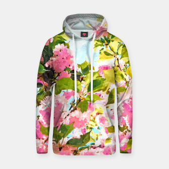 Thumbnail image of Day Dreaming Under The Blooming Bougainvilla Hoodie, Live Heroes