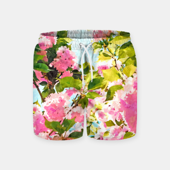 Thumbnail image of Day Dreaming Under The Blooming Bougainvilla Swim Shorts, Live Heroes