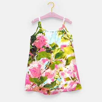 Thumbnail image of Day Dreaming Under The Blooming Bougainvilla Girl's dress, Live Heroes