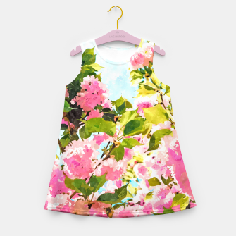 Miniaturka Day Dreaming Under The Blooming Bougainvilla Girl's summer dress, Live Heroes