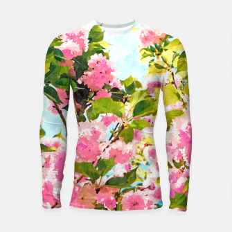 Thumbnail image of Day Dreaming Under The Blooming Bougainvilla Longsleeve rashguard , Live Heroes