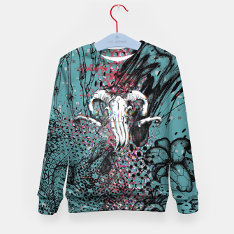 Thumbnail image of Horns Glitch Kid's sweater, Live Heroes