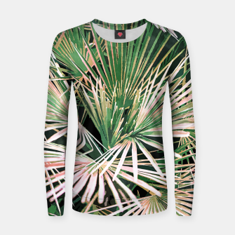 Thumbnail image of Palms II Women sweater, Live Heroes