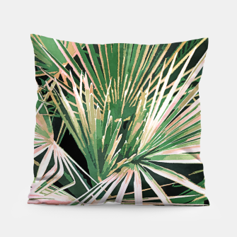 Thumbnail image of Palms II Pillow, Live Heroes