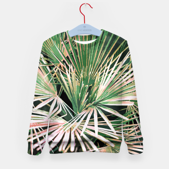 Thumbnail image of Palms II Kid's sweater, Live Heroes