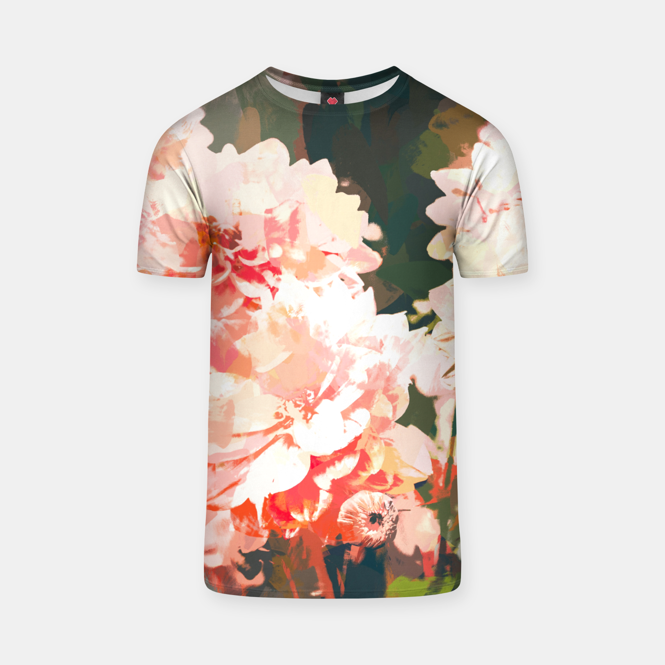 Image of Blush  T-shirt - Live Heroes
