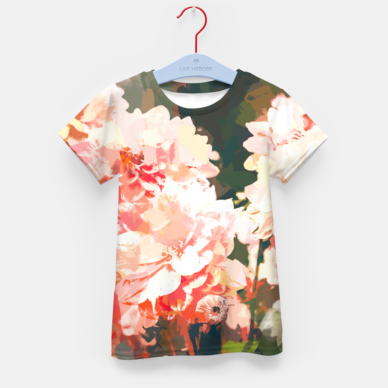 Image of Blush  Kid's t-shirt - Live Heroes