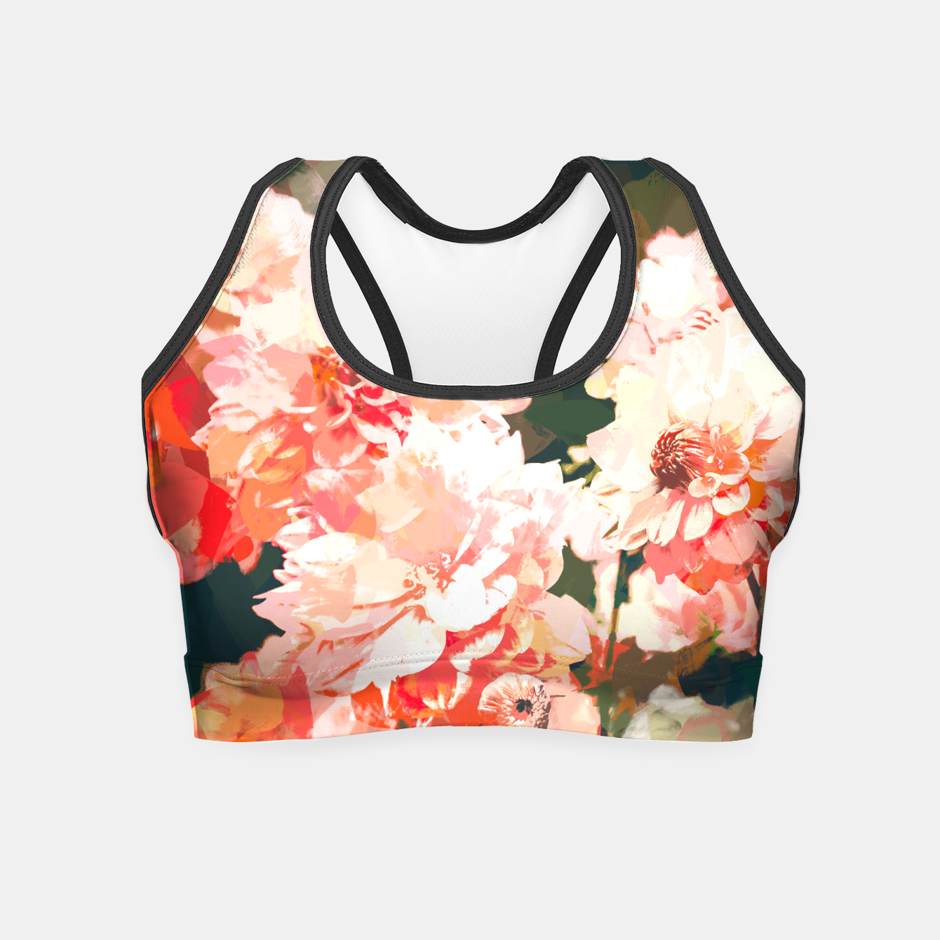 Image of Blush  Crop Top - Live Heroes