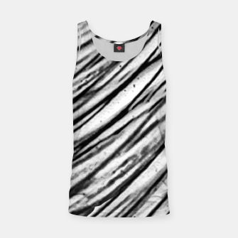 Thumbnail image of White and Black Modern Zebra Print Tank Top, Live Heroes