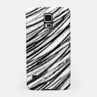 Thumbnail image of White and Black Modern Zebra Print Samsung Case, Live Heroes