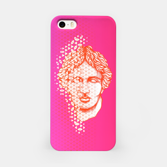 Thumbnail image of Greece Grid iPhone Case, Live Heroes