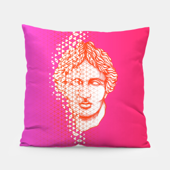 Thumbnail image of Greece Grid Pillow, Live Heroes