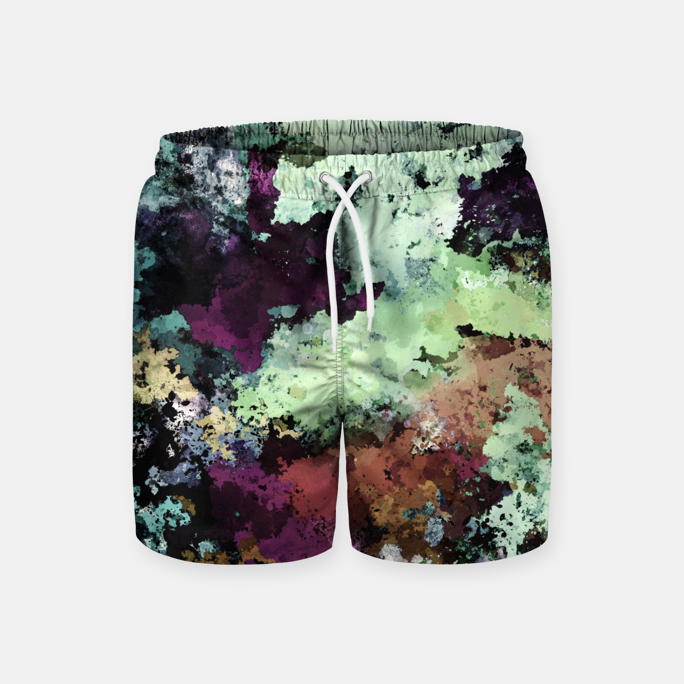 Image of Rock working Swim Shorts - Live Heroes