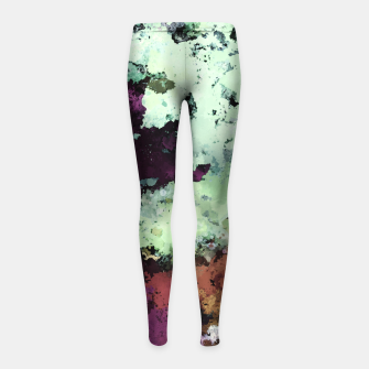 Thumbnail image of Rock working Girl's leggings, Live Heroes