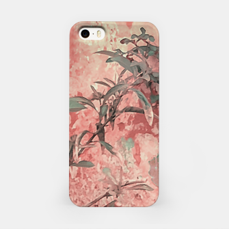 Thumbnail image of Botanic Grunge Motif Artwork iPhone Case, Live Heroes