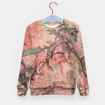 Thumbnail image of Botanic Grunge Motif Artwork Kid's sweater, Live Heroes