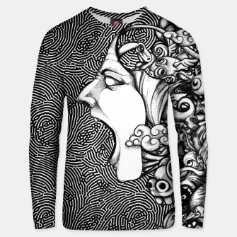 Miniatur Scream Doodles BW Unisex sweater, Live Heroes