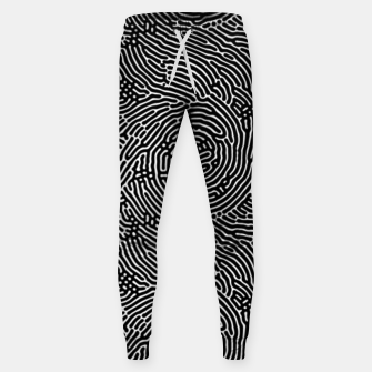 Miniatur Scream Doodles BW Sweatpants, Live Heroes