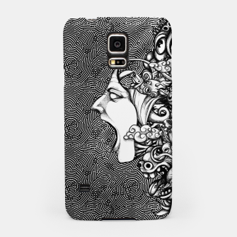 Miniatur Scream Doodles BW Samsung Case, Live Heroes