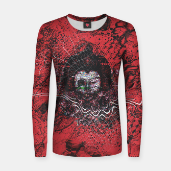 Miniatur Cyber Glitch Women sweater, Live Heroes