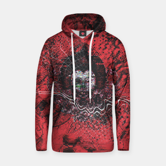 Thumbnail image of Cyber Glitch Hoodie, Live Heroes