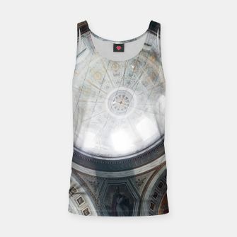 Miniatur Scaffolded Dome of the Basilica of Esztergom Tank Top, Live Heroes
