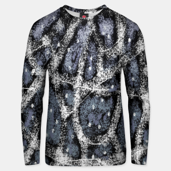 Thumbnail image of Glitchy Grunge Abstract Print Unisex sweater, Live Heroes