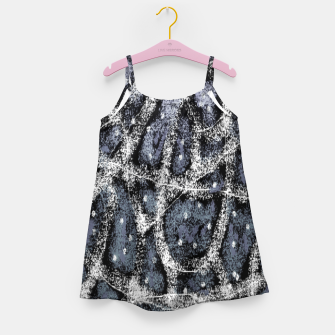 Thumbnail image of Glitchy Grunge Abstract Print Girl's dress, Live Heroes