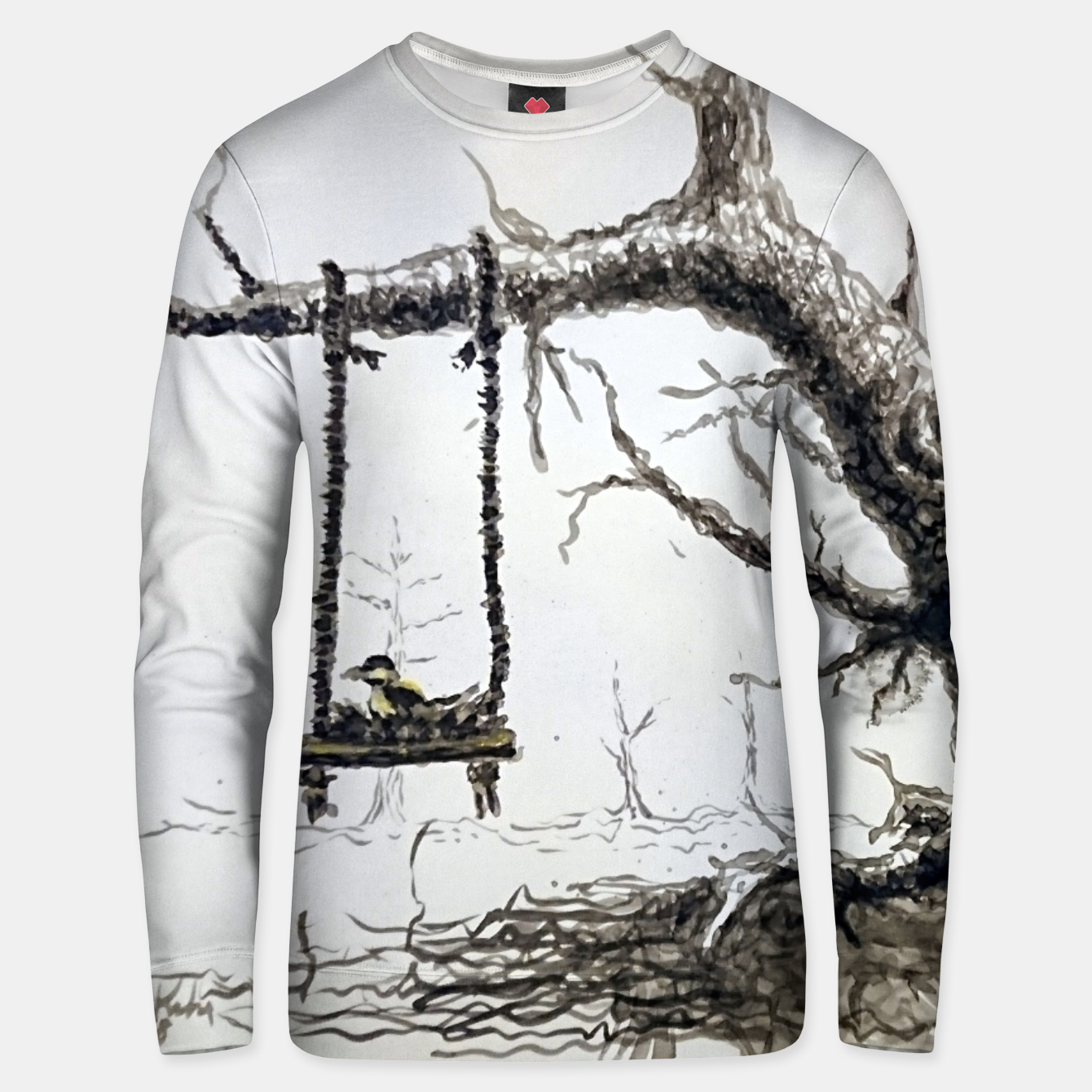 Image of Solitude Unisex sweater - Live Heroes