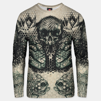 Thumbnail image of Old Ink Mirror Unisex sweater, Live Heroes