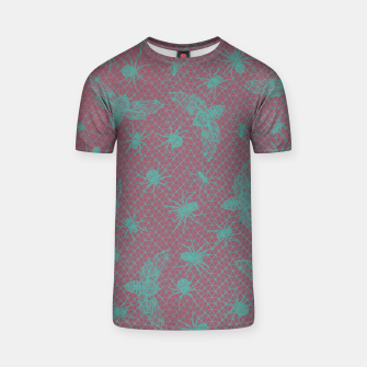 Thumbnail image of The Insects Grid T-shirt, Live Heroes