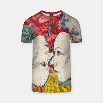Thumbnail image of Mirror Glitch T-shirt, Live Heroes