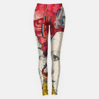 Thumbnail image of Mirror Glitch Leggings, Live Heroes