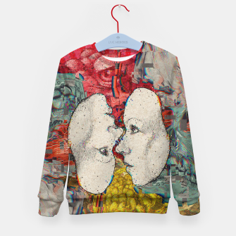 Thumbnail image of Mirror Glitch Kid's sweater, Live Heroes