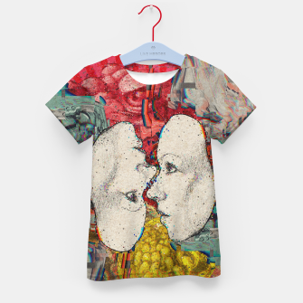 Thumbnail image of Mirror Glitch Kid's t-shirt, Live Heroes