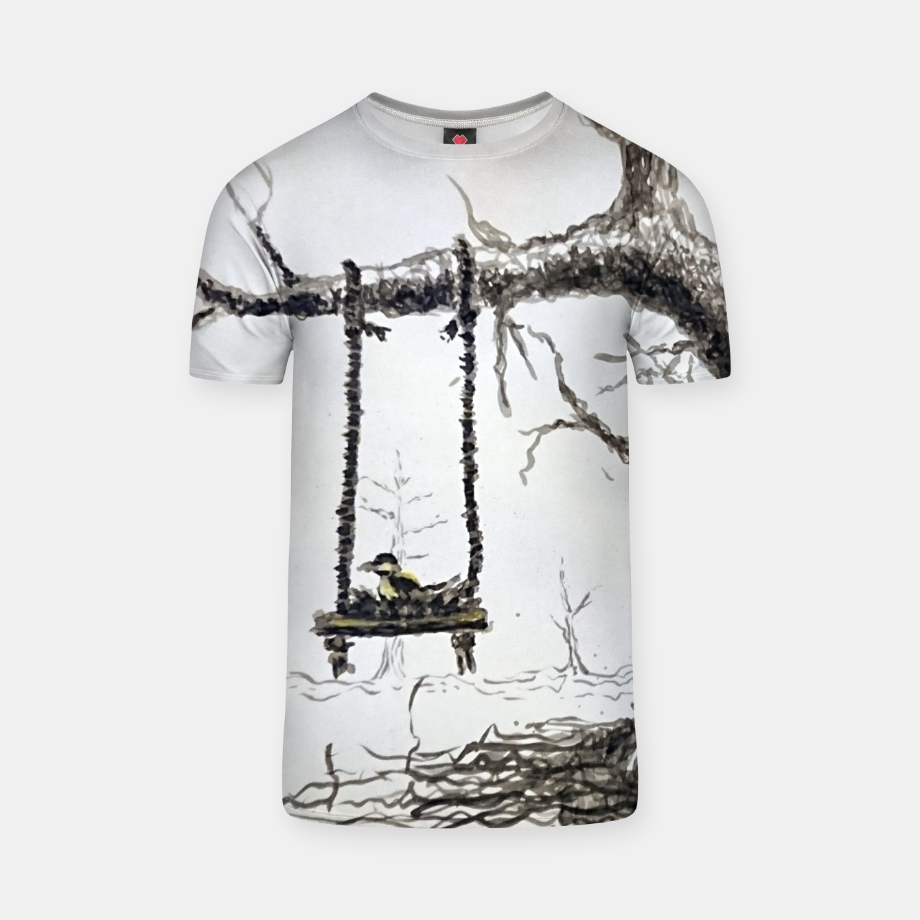Image of Solitude T-shirt - Live Heroes