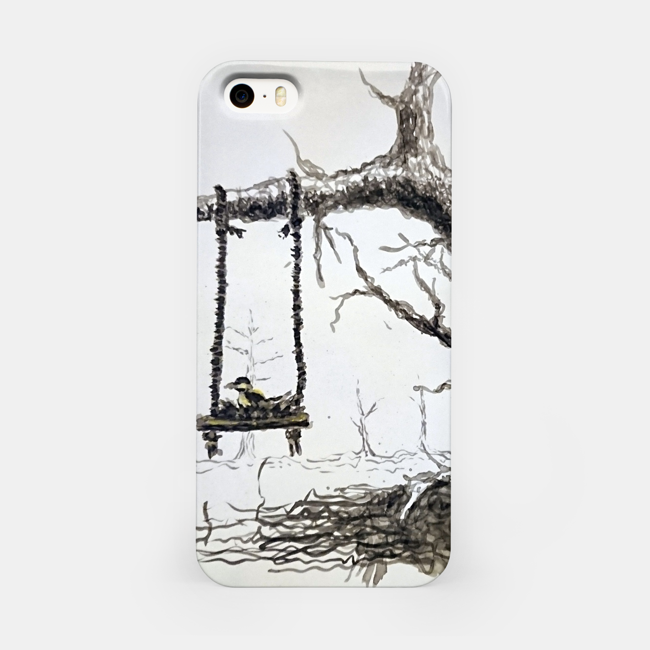 Image of Solitude iPhone Case - Live Heroes