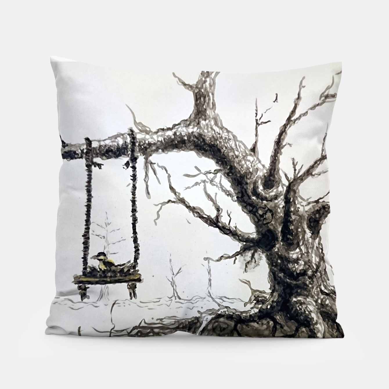 Image of Solitude Pillow - Live Heroes